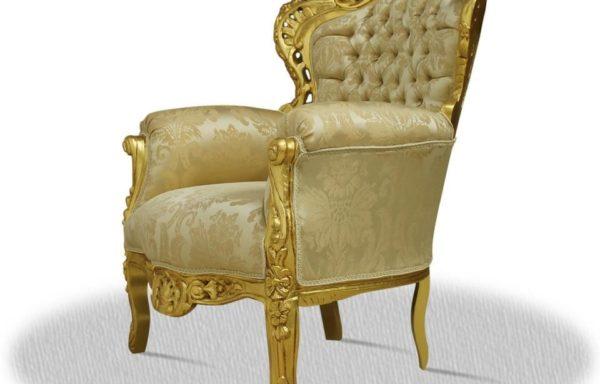 Poltrona Barocca Oro