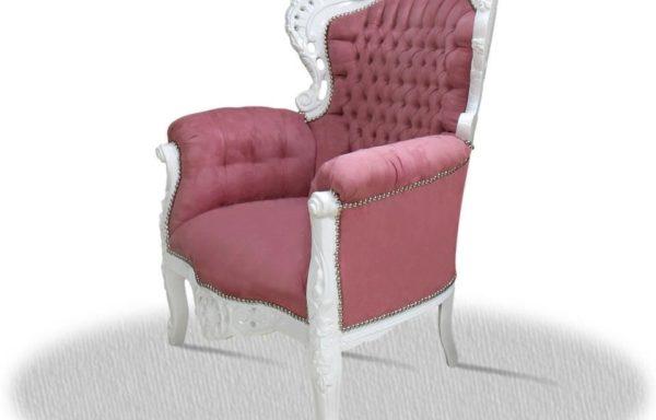Poltrona Barocca Rosa